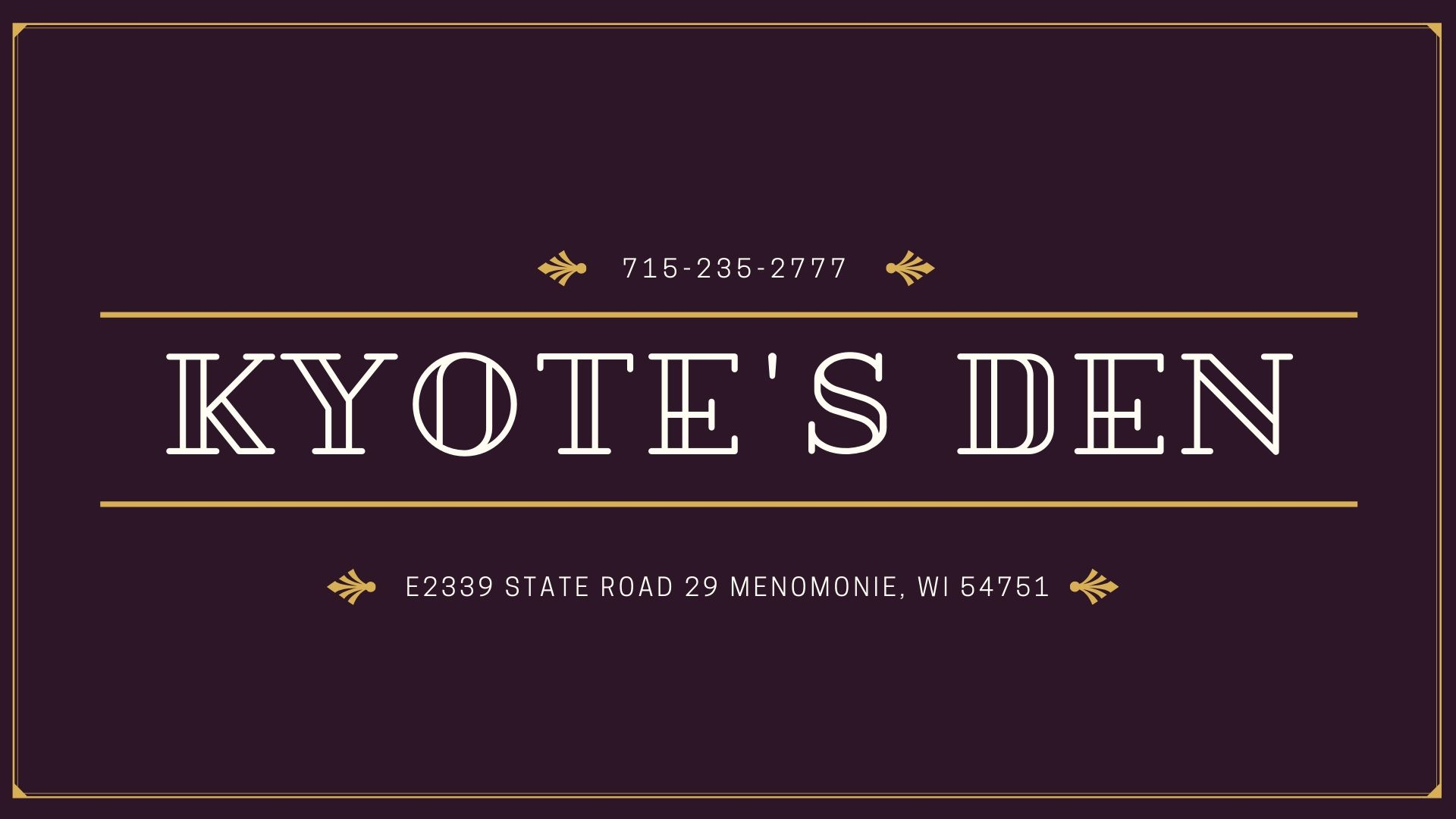 Kyote's Den Bar & Grill